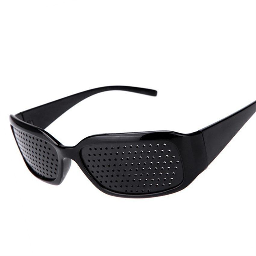 משקפיים מיוחדות לשיפור הראייה - דרך מלא חורים קטנים