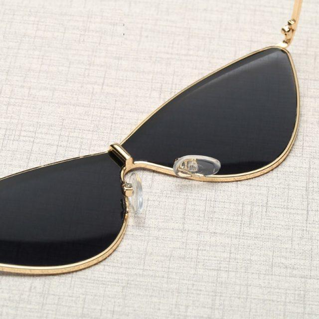 Small Triangle Cat Eye Sunglasses Women Vintage Brand Designer Black Red Cheap Sun Glasses Female 2019 Eyeglasses UV400