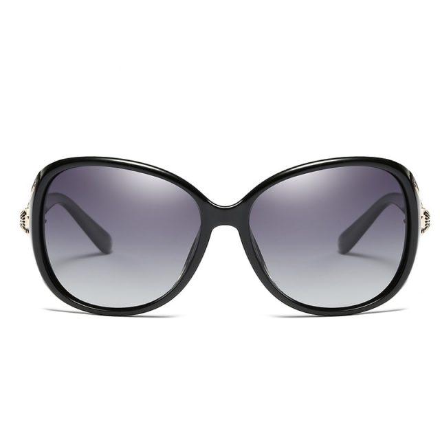 משקפי שמש אופנתיות עם עדשות מקוטבות וסנן UV